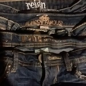 3pr. Denim shorts